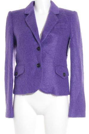 Strenesse Woll-Blazer lila klassischer Stil