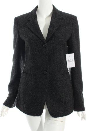 Strenesse Woll-Blazer schwarz-grau klassischer Stil