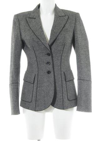 Strenesse Woll-Blazer schwarz-hellgrau Casual-Look