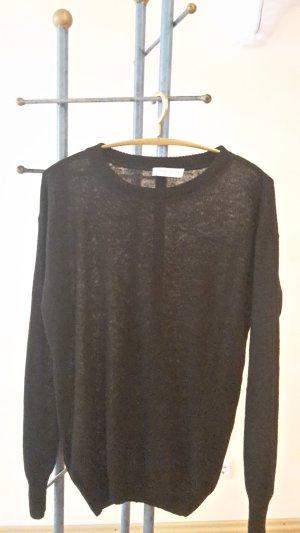 Strenesse Blue Wool Sweater black wool