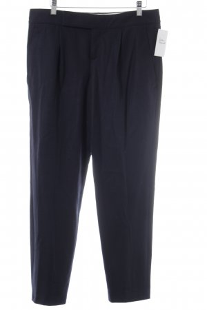 Strenesse Woolen Trousers dark blue business style