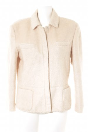 Strenesse Wolljacke creme Casual-Look