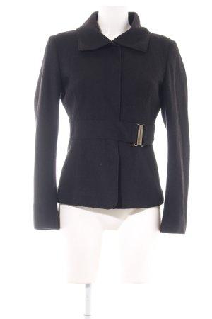 Strenesse Chaqueta de lana negro estilo «business»