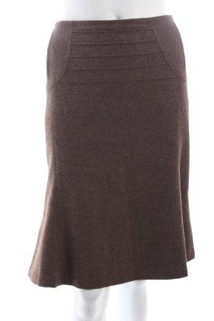 Strenesse Wollrock graubraun Elegant