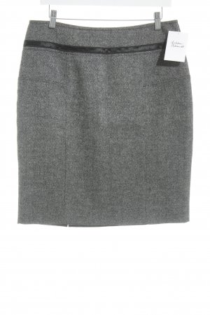 Strenesse Wool Skirt black flecked business style