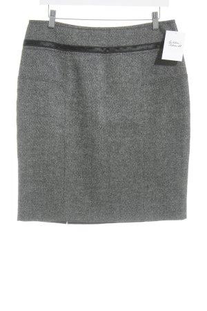 Strenesse Wollrock schwarz meliert Business-Look