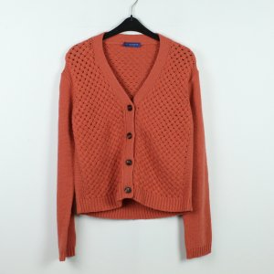 STRENNESSE BLUE Strick Cardigan Gr. S orange (19/10/192)
