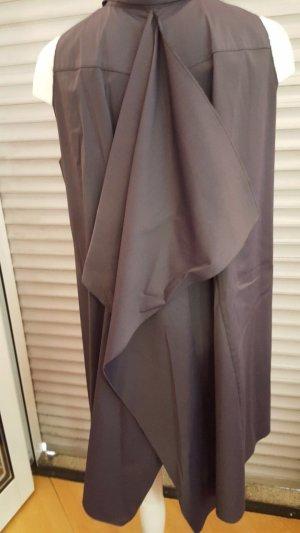 Prada Mouwloze blouse antraciet