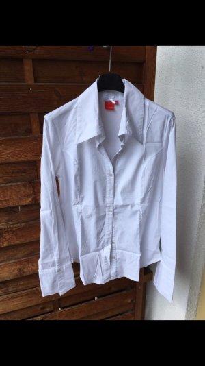 Stretch Bluse weiß