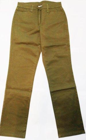 bpc Stretch broek khaki Katoen