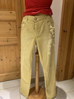 Qiero Stretch Trousers pale yellow