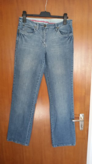 Giada Stretch jeans blauw Katoen