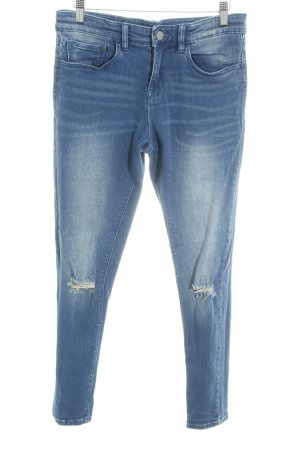 Stretch jeans blauw casual uitstraling