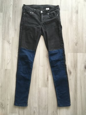 H&M Carrot Jeans multicolored cotton
