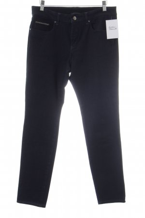 Stretch Jeans dunkelblau klassischer Stil