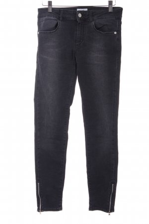 Stretch Jeans dunkelgrau Casual-Look