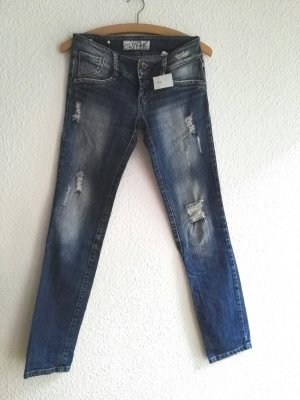 Stretch Jeans in blau, Größe 38