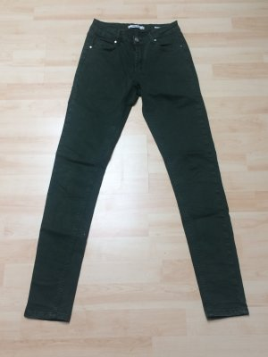 Stretch Jeans khaki in Gr. XS