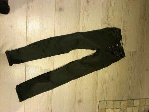 Stretch-Jeans leicht High-waiste
