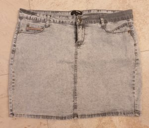 Stretch Jeans Rock mit Pailletten gr.44
