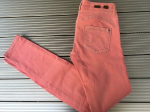 Stretch jeans slim cut, Zara, Koralle