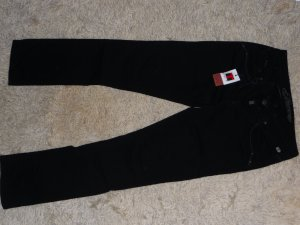 Stretch-Jeans Tahila, Slim Fit, schwarz