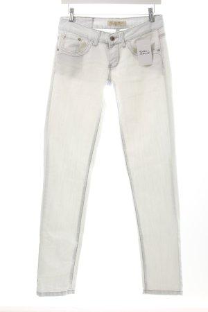 Stretch Jeans weiß klassischer Stil