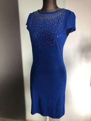 Stretch Kleid Gr 36 38 S Royalblau von Heine