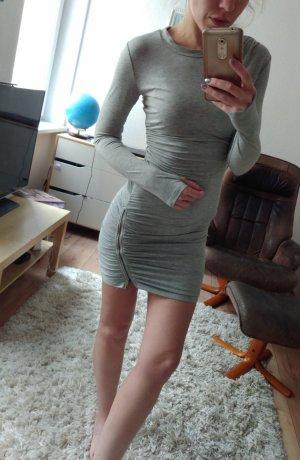 Stretch Kleid grau gr S