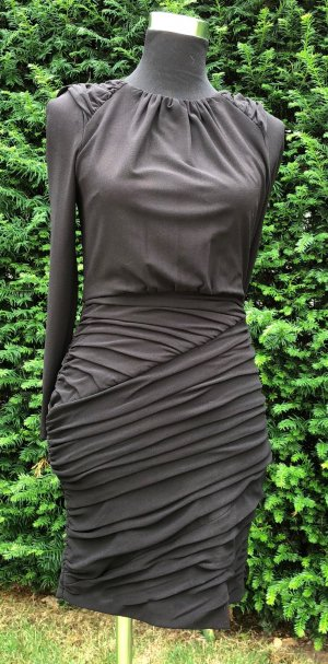 Stretch-Kleid mit Drapierungen
