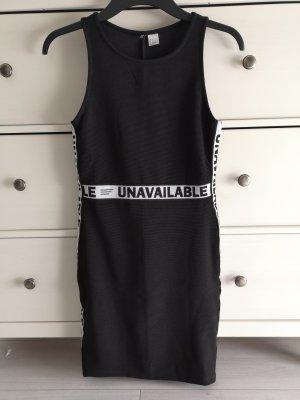 Stretch Kleid mit Slogan