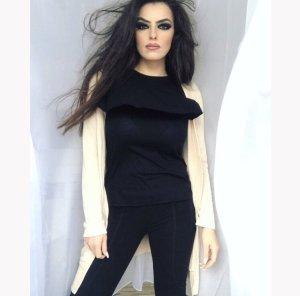 Zara Pantalon cigarette noir