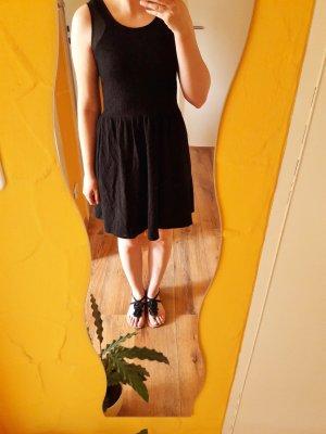 Stretch Muster Kleid schwarz Gr. S
