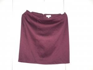 Blue Motion Pencil Skirt blackberry-red-brown violet