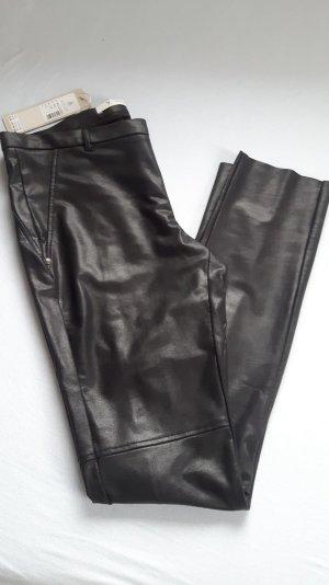 Monari Pantalon cigarette noir