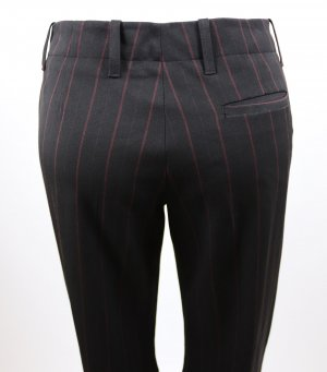 H&M Marlene Trousers black-bordeaux