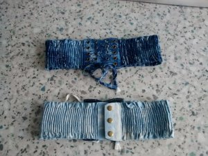 Madonna Hip Belt azure-steel blue
