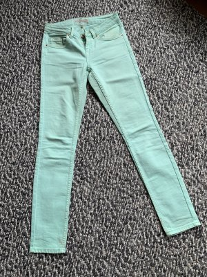 Stretch Topshop Jeans in sommerlichen Mint