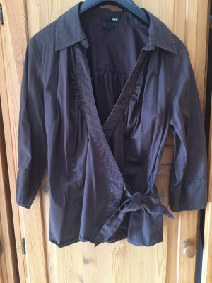 Stretch Wickelbluse