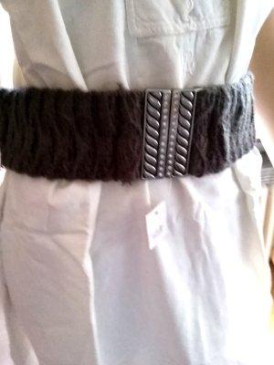 Fabric Belt grey