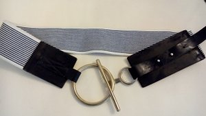 Gerry Weber Fabric Belt white-dark blue