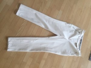 Marc Cain Riding Trousers natural white polyamide