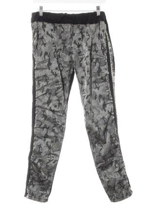 Pantalón elástico estampado de camuflaje look Street-Style