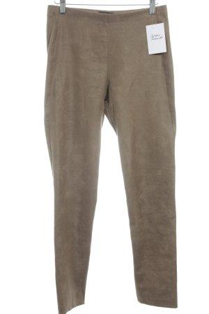 Pantalone elasticizzato marrone-grigio stile da moda di strada