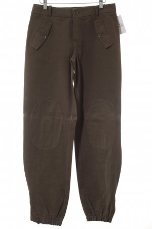 Stretch Trousers green grey casual look