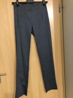 Friendtex Pantalon strech bleu foncé-gris foncé