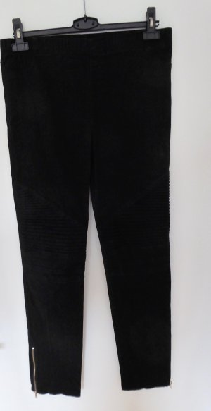Pantalón elástico negro Algodón