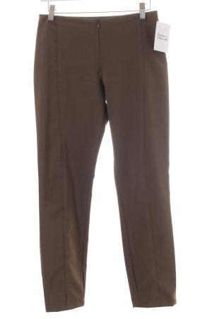 Pantalone elasticizzato verde oliva stile semplice