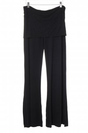 Stretchhose schwarz Casual-Look