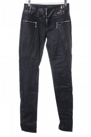 Stretch Trousers black extravagant style